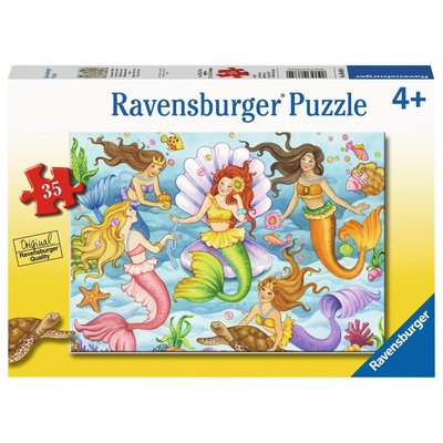 Ravensburger Ravensburger Puzzle 35pc Queens of the Ocean