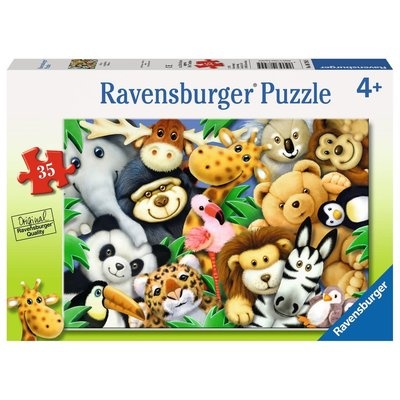 Ravensburger Ravensburger Puzzle 35pc Softies
