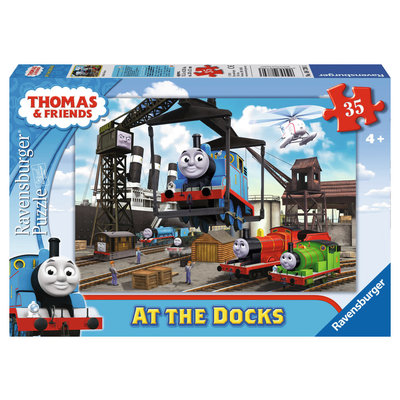 Ravensburger Ravensburger Puzzle 35pc Thomas at the Docks