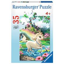 Ravensburger Ravensburger Puzzle 35pc Unicorn Castle