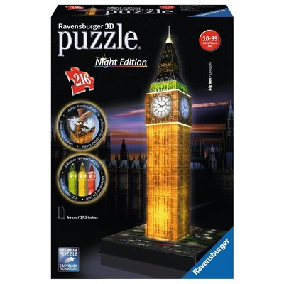 Ravensburger Ravensburger Puzzle 3D Big Ben Night