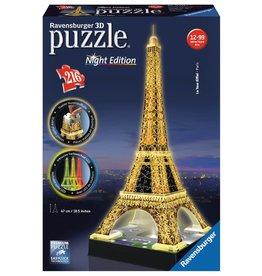 Ravensburger Ravensburger Puzzle 3D Eiffel Tower Night