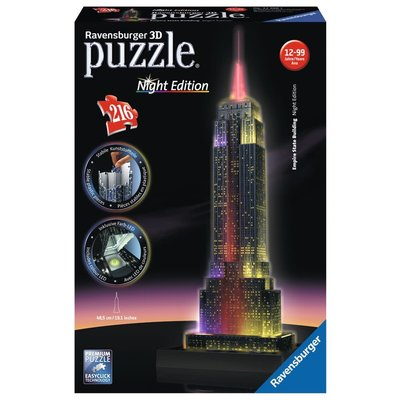 Ravensburger Ravensburger Puzzle 3D Empire State Night
