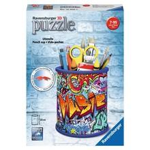 Ravensburger Ravensburger Puzzle 3D Penicl Holder Graffiti