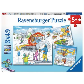 Ravensburger Puzzle 3x49pc Let's Go Skiing!