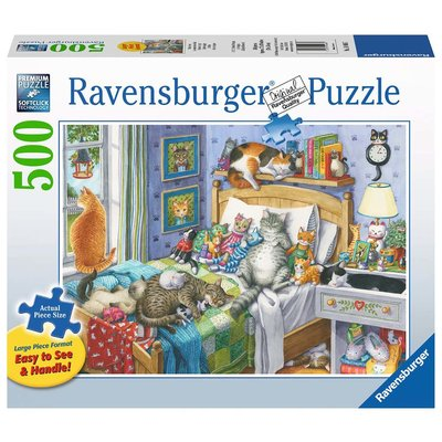 Ravensburger Ravensburger Puzzle 500pc Large Format Cat Nap