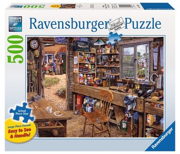 Ravensburger Puzzle 500pc Large Format Dad's Shed