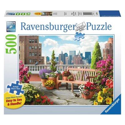 Ravensburger Ravensburger Puzzle 500pc Large Format Rooftop Garden