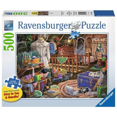 Ravensburger Ravensburger Puzzle 500pc Large Format The Attic