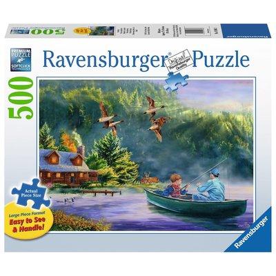 Ravensburger Ravensburger Puzzle 500pc Large Format Weekend Escape