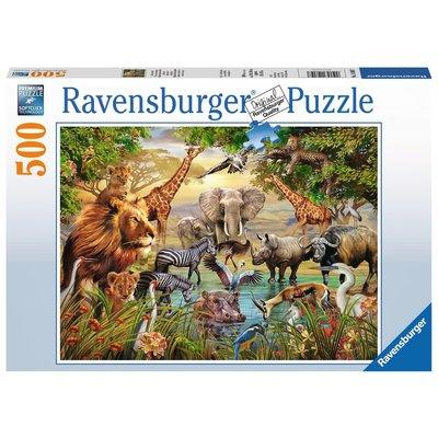 Ravensburger Ravensburger Puzzle 500pc Majestic Watering Hole