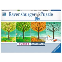 Ravensburger Ravensburger Puzzle 500pc Panorama Four Seasons