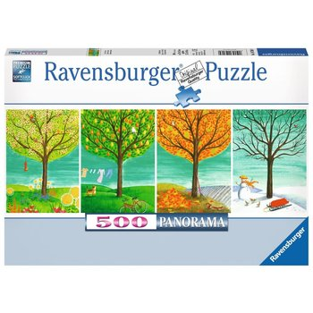 Ravensburger  Puzzle 500pc Panorama Four Seasons