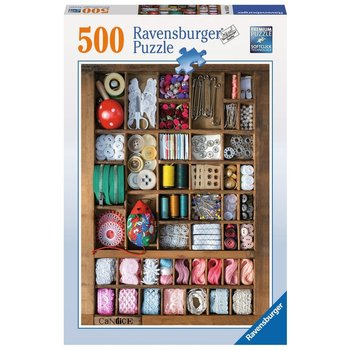 Ravensburger Puzzle 500pc The Sewing Box