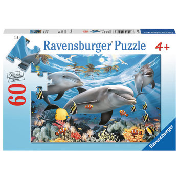 Ravensburger  Puzzle 60pc Caribbean Smile
