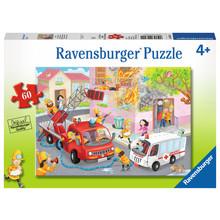 Ravensburger Ravensburger Puzzle 60pc Firefighter Rescue!