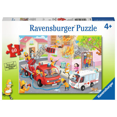 Ravensburger Ravensburger Puzzle 60pc Firefighter Rescue!