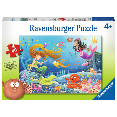 Ravensburger Ravensburger Puzzle 60pc Mermaid Tales