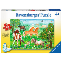 Ravensburger Ravensburger Puzzle 60pc Mustang Meadow