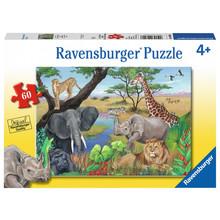 Ravensburger Ravensburger Puzzle 60pc Safari Animals