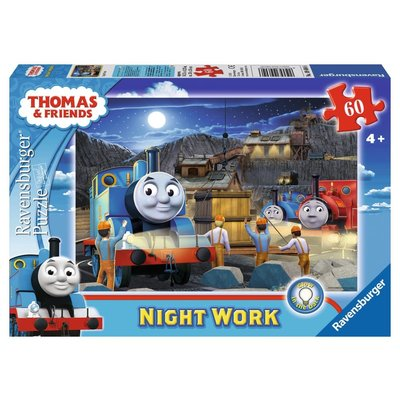 Ravensburger Ravensburger Puzzle 60pc Thomas Night Work