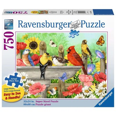 Ravensburger Ravensburger Puzzle 750pc Large Format Bathing Birds