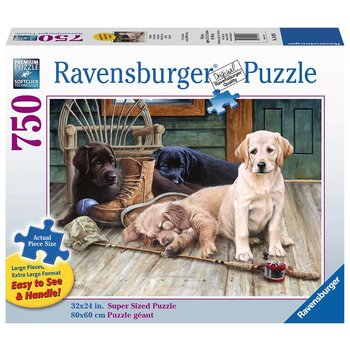 Ravensburger Puzzle 750pc Large Format Ruff Day