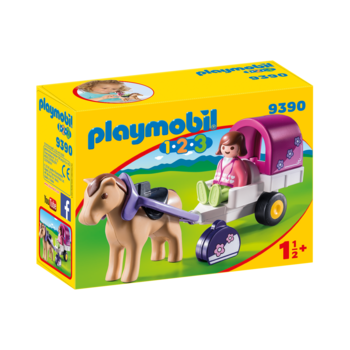Playmobil 123 Horse-Drawn Carriage