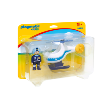 Playmobil 123 Police Helicopter