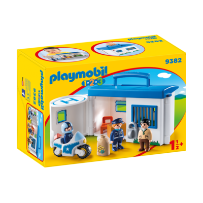 Playmobil Playmobil 123 Take Along Police Station