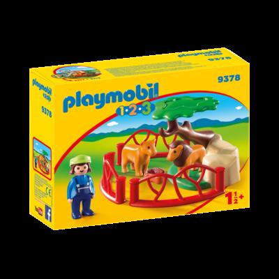 Playmobil Playmobil 123 Zoo Lion Enclosure