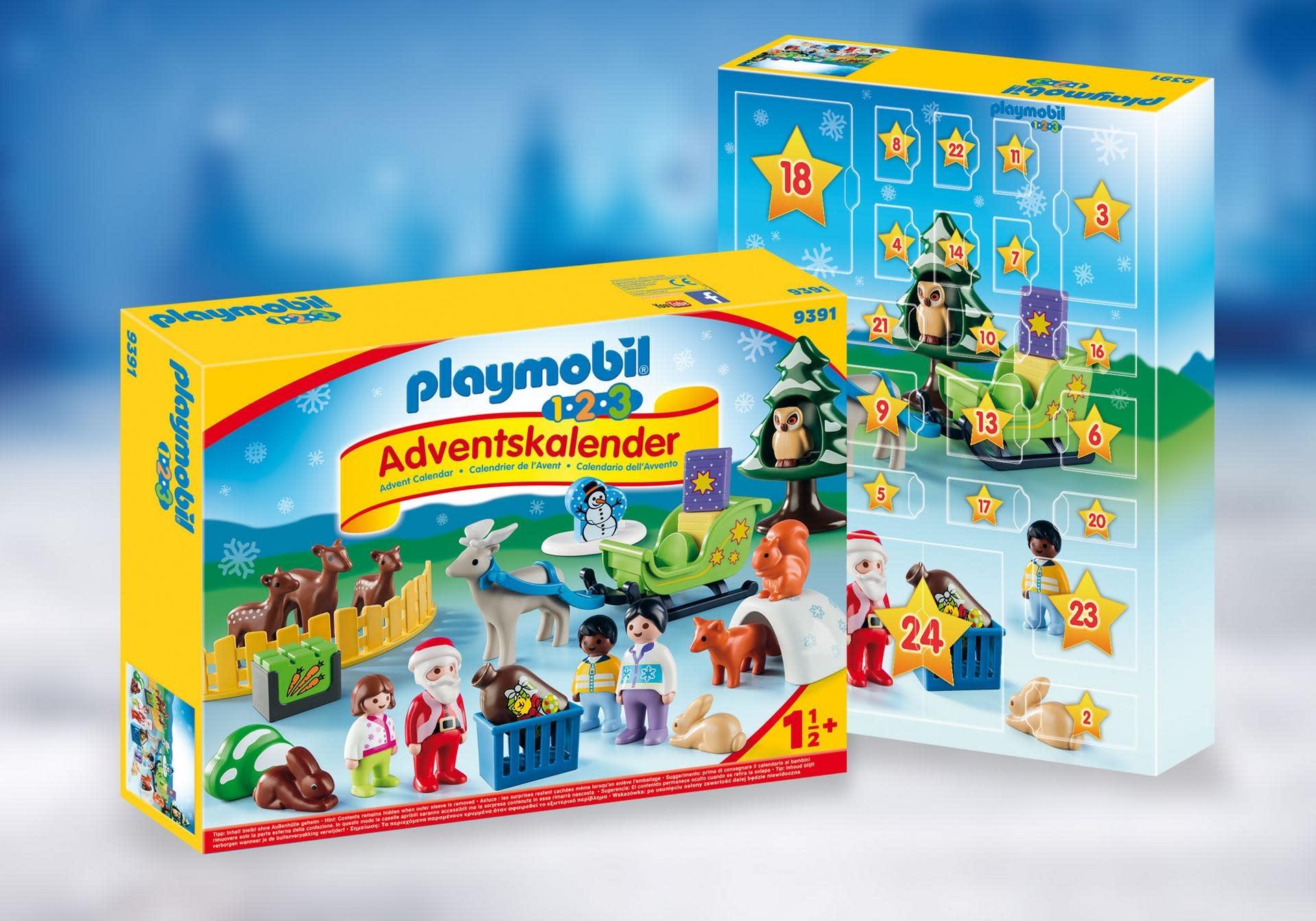 Calendario Avvento Playmobil.Playmobil Advent Calendar 2019 123 Christmas In The Forest