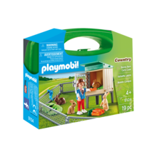 Playmobil Playmobil Carry Case: Bunny Barn