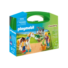 Playmobil Playmobil Carry Case: Horse Grooming