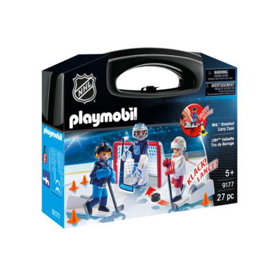 Playmobil Playmobil Carry Case: NHL Shoot Out