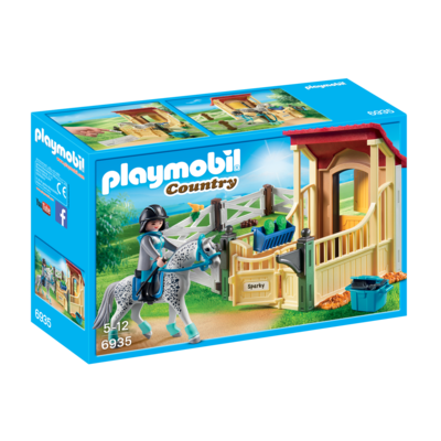 Playmobil Playmobil Country Horse Stable with Appaloosa