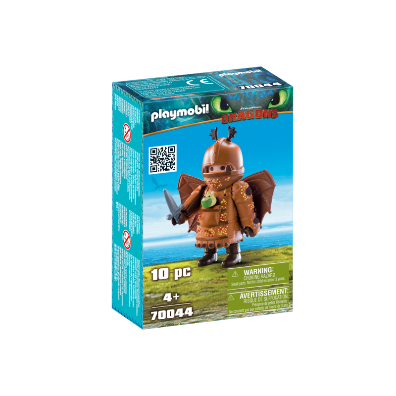Playmobil Playmobil Dragons Fishlegs with Flight Suit