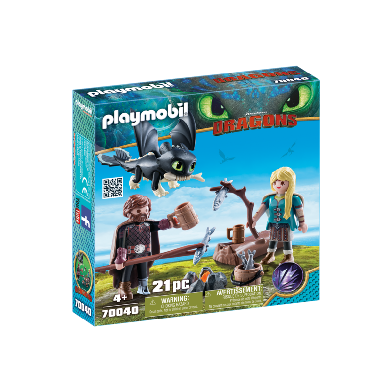 Playmobil Playmobil Dragons Hiccups and Astrid