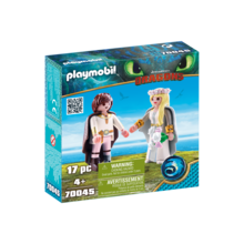 Playmobil Playmobil Dragons Astrid and Hiccup