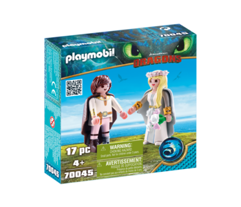 Playmobil Dragons Astrid and Hiccup