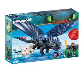 Playmobil Dragons Toothless and Hiccup Play Set