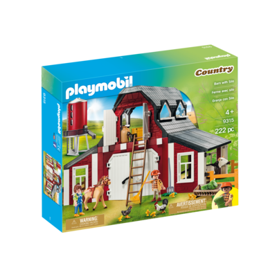 Playmobil Playmobil Farm Barn with Silo