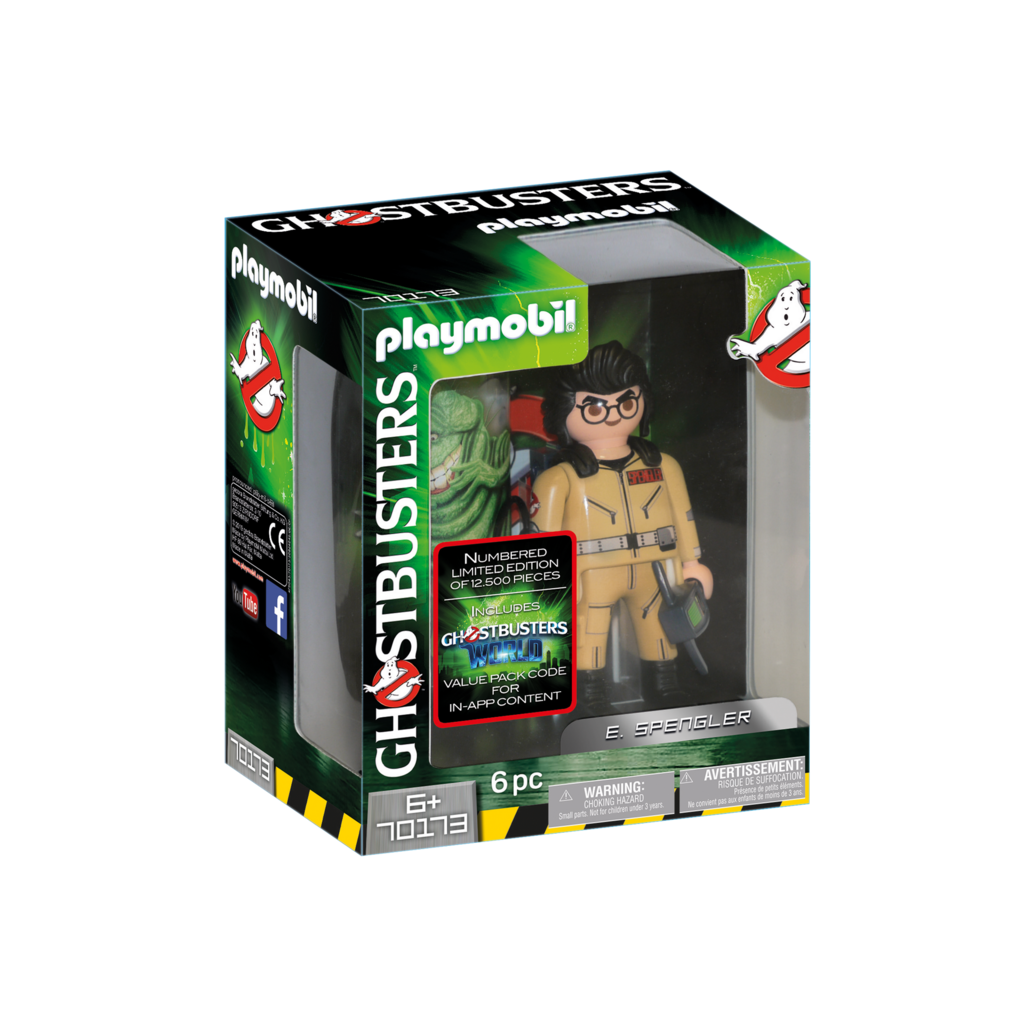 Playmobil Ghostbusters Collection Figure E Spengler