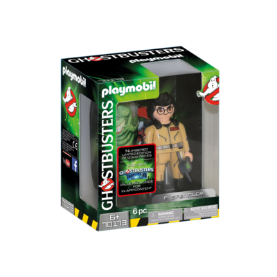 Playmobil Playmobil Ghostbusters Collection Figure E Spengler