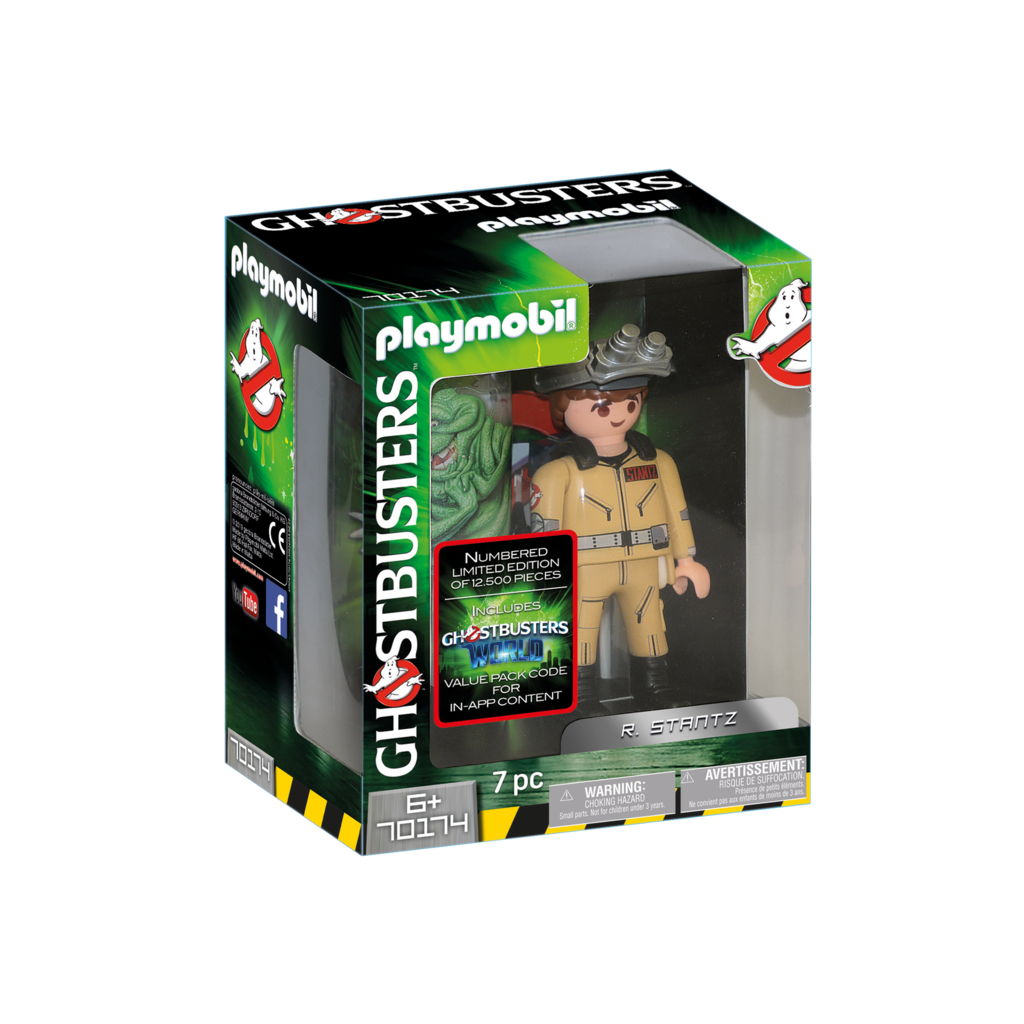 Playmobil Ghostbusters Collection Figure R. Stant