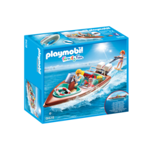 Playmobil Playmobil LTD Speedboat with Underwater Motor