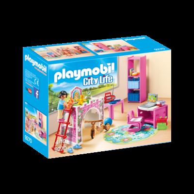 Playmobil Playmobil Modern House Children's Room