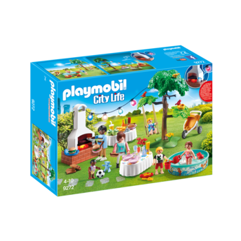 Playmobil Modern House Housewarming Party