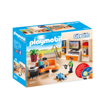 Playmobil Modern House Living Room
