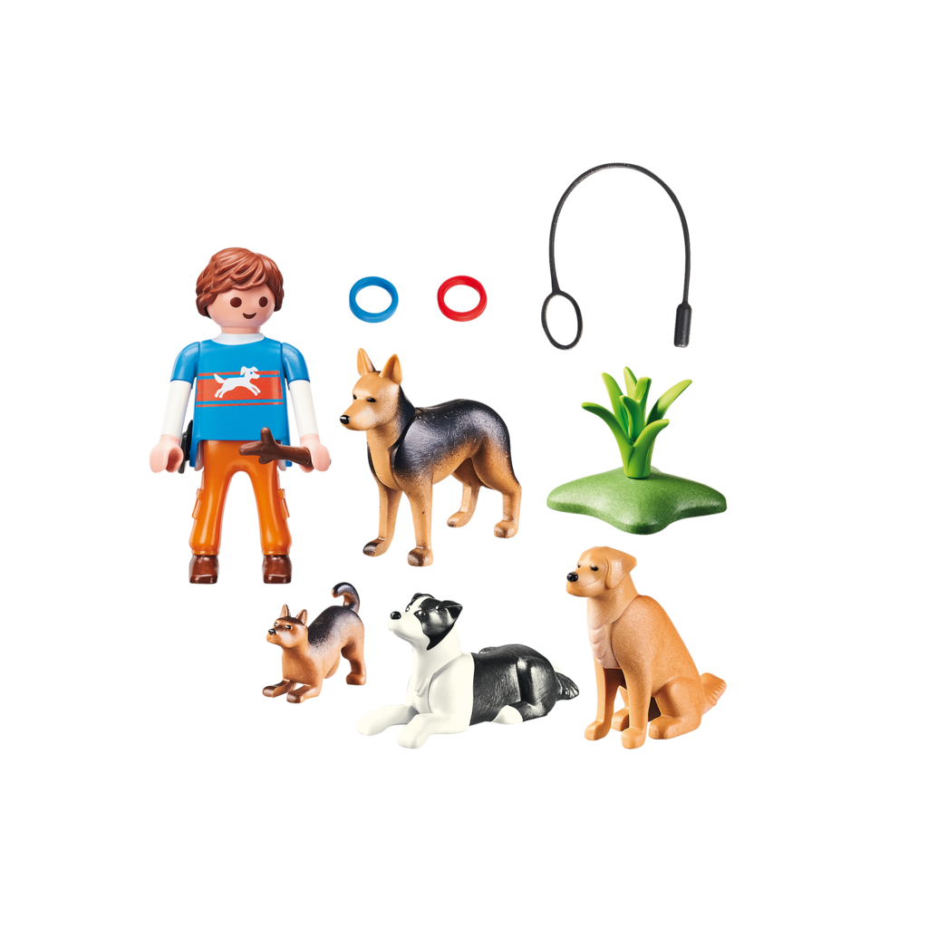 Playmobil Pet Hotel Dog Trainer